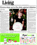 Emma steps up to the plate against diabetes