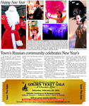 Town's Russian community celebrates New Year's