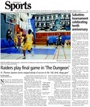 Raiders play final game in 'The Dungeon'