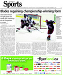 Blades regaining championship-winning form: Team enters break on eight-game win streak after convincing win in Georgetown
