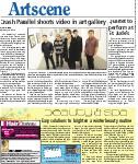 Crash Parallel shoots video in art gallery