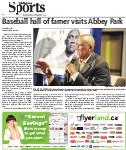Baseball hall of famer visits Abbey Park