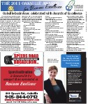 The 2011 Oakville Awards for Business Excellence: Oakville businesses celebrated with Awards of Excellence