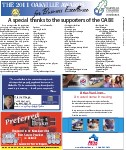 The 2011 Oakville Awards for Business Excellence: A special thanks to the supporters of the OABE