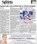 Aquinas girls earn another trip to OFSAA volleyball