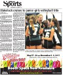 Blakelock cruises to junior volleyball title