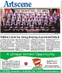 Children's choir has strong showing at provincial festival