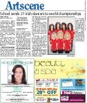 School sends 21 Irish dancers to world championships