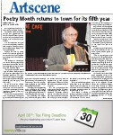 Poetry Month returns to town for its fifth year