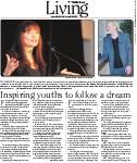 Inspiring youths to follow a dream