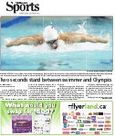Two seconds stand between Swimmer and Olympics