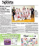 Venom boys repeat as Ontario champs