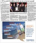 OT Lunch Buddies pick up provincial award