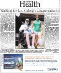 Walking for Lou Gehrig's disease patients