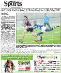 Red Devils not willing to share Halton rugby title belt