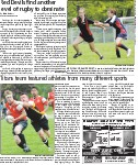 Red Devils find another level of rugby to dominate