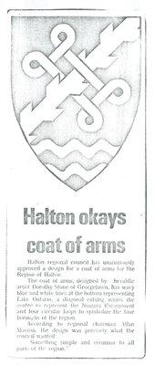Halton okays coat of arms