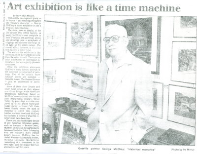 Art exhibition is like a time machine
