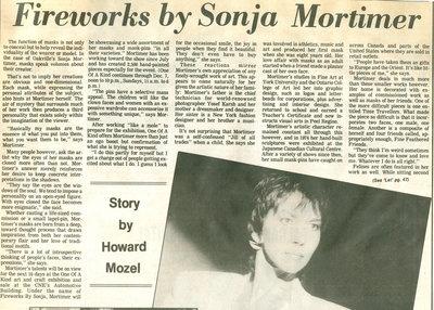 Fireworks by Sonja Mortimer