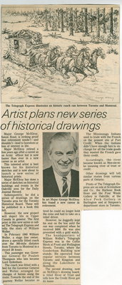 Artist plans new series of historical drawings