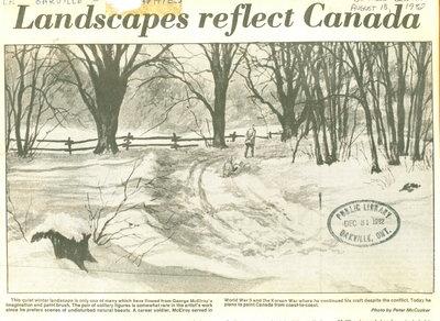 Landscapes reflect Canada