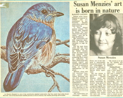 Susan Menzies' art is born in nature