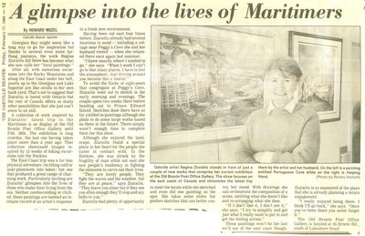 A glimpse into the lives of Maritimers