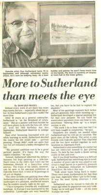More to Sutherland than meets the eye