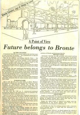 Future belongs to Bronte