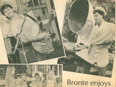 Bronte enjoys fair weekend