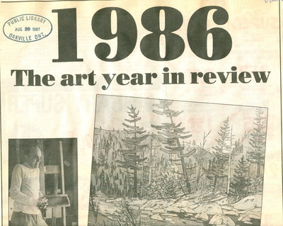 1986: The art year in review