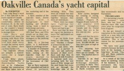 Oakville: Canada's yacht capital