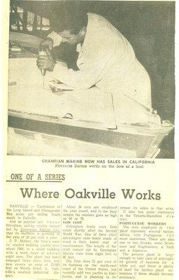 Where Oakville works