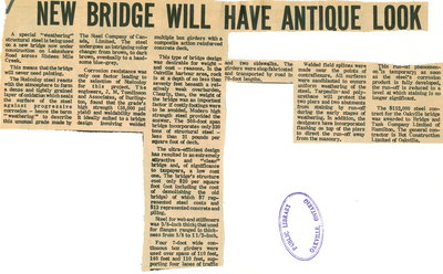 New bridge will have antique look
