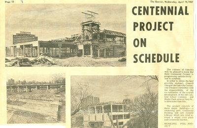 Centennial project on schedule