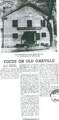 Focus on Old Oakville