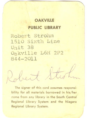 Sample library card (1980)