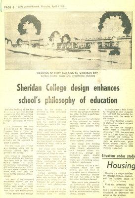 Sheridan College design enhances school's philosophy of education