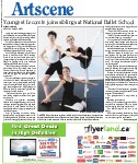 Youngest Lecomte joins siblings at National Ballet School