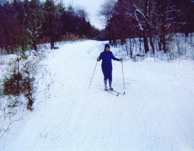 Blanchard Family - Skiing