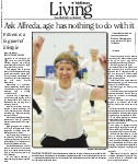 Ask Alfreda, age has nothing to do with it