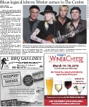 Blues legend Johnny Winter comes to the Centre