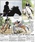 Local stable's first horseshow goes off without a fault