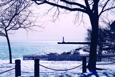 Winter View of Lake Ontario
