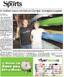 A mother's love not lost on Olympic champion kayakers