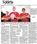 Oakville trio ready to ruck and maul with the rest of the world