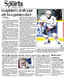 Laughton's draft year off to a golden start