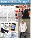 Barrington's at 60: founded on furs, flourishing on fine outerwear, accessories