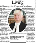 O'Marra appointed Superior Court justice
