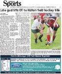 Late goal lifts OT to Halton field hockey title